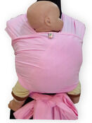 Palm and Pond Stretchy Cotton Baby Wrap Sling - Pink additional 5