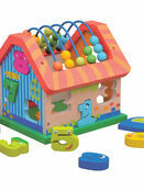 Jumini Activity House Natural Wood Development Toy additional 1