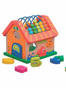 Jumini Activity House Natural Wood Development Toy additional 3