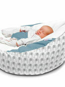 Luxury Cuddlesoft Elephant pre-filled Baby Bean Bag - Choose your Colour additional 2