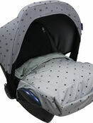Dooky Cosy Top universal fleeced lined car seat cover - Choose your design additional 8