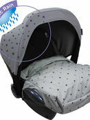 Dooky Cosy Top universal fleeced lined car seat cover - Choose your design additional 9