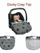 Dooky Cosy Top universal fleeced lined car seat cover - Choose your design additional 1