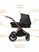 Ickle Bubba Stomp v4 All In One i-Size Travel System With Isofix Base additional 18