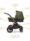 Ickle Bubba Stomp v4 All In One i-Size Travel System With Isofix Base additional 32