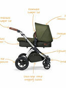 Ickle Bubba Stomp v4 All In One i-Size Travel System With Isofix Base additional 46