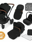 Ickle Bubba Stomp v3 All In One Travel System With 0+ Galaxy Car Seat and Isofix Base additional 3
