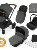 Ickle Bubba Stomp v3 All In One Travel System With 0+ Galaxy Car Seat and Isofix Base additional 17