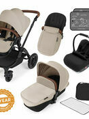 Ickle Bubba Stomp v3 All In One Travel System With 0+ Galaxy Car Seat and Isofix Base additional 31