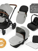 Ickle Bubba Stomp v3 All In One Travel System With 0+ Galaxy Car Seat and Isofix Base additional 45