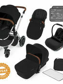 Ickle Bubba Stomp v3 All In One Travel System With 0+ Galaxy Car Seat and Isofix Base additional 1