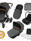 Ickle Bubba Stomp v3 All In One Travel System With 0+ Galaxy Car Seat and Isofix Base additional 72