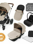 Ickle Bubba Stomp v3 All In One Travel System With 0+ Galaxy Car Seat and Isofix Base additional 85