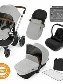 Ickle Bubba Stomp v3 All In One Travel System With 0+ Galaxy Car Seat and Isofix Base additional 100