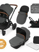 Ickle Bubba Stomp v3 All In One Travel System with i-Size Mercury Car Seat and Isofix Base additional 19