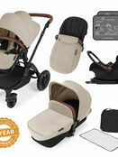 Ickle Bubba Stomp v3 All In One Travel System with i-Size Mercury Car Seat and Isofix Base additional 30