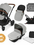 Ickle Bubba Stomp v3 All In One Travel System with i-Size Mercury Car Seat and Isofix Base additional 43