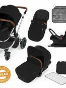 Ickle Bubba Stomp v3 All In One Travel System with i-Size Mercury Car Seat and Isofix Base additional 56