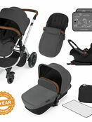 Ickle Bubba Stomp v3 All In One Travel System with i-Size Mercury Car Seat and Isofix Base additional 1