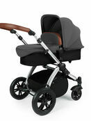 Ickle Bubba Stomp v3 All In One Travel System with i-Size Mercury Car Seat and Isofix Base additional 70