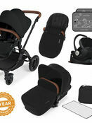 Ickle Bubba Stomp v3 All In One Travel System with i-Size Mercury Car Seat and Isofix Base additional 3