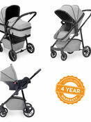 Ickle Bubba Moon 3 in 1 Travel System with 0+ Galaxy Car Seat additional 28