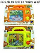 AtoZ Musical TV (2 assorted designs) additional 1
