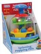 Fun Time Spinning Popping Pals 6+ mths additional 2