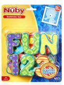Nuby Bathtime Fun - Letters & Numbers 36 pieces additional 1