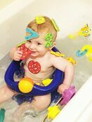 Nuby Bathtime Fun - Letters & Numbers 36 pieces additional 6