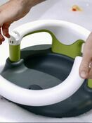 Rotho Babydesign Bath Seat, With hinged ring and child safety lock, 7-16 months, Up to 13 kg - Choose your colour additional 15