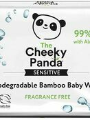Cheeky Panda Biodegradable Bamboo Baby Wipes - 64 Pack additional 2