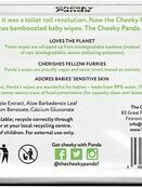 Cheeky Panda Biodegradable Bamboo Baby Wipes - 64 Pack additional 3