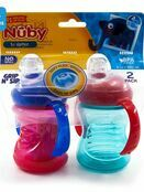 Nuby Simply Grip n Sip Trainer Cup 240ml Twin Pack - Assorted Colours additional 2