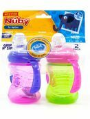 Nuby Simply Grip n Sip Trainer Cup 240ml Twin Pack - Assorted Colours additional 1