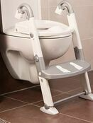 Kids Kit 3 in 1 Toilet Trainer - Grey/White additional 2