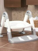 Kids Kit 3 in 1 Toilet Trainer - Grey/White additional 3