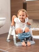 Kids Kit 3 in 1 Toilet Trainer - Grey/White additional 4