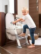 Kids Kit 3 in 1 Toilet Trainer - Grey/White additional 5
