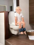Kids Kit 3 in 1 Toilet Trainer - Grey/White additional 6