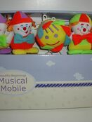Musical Mobile - Happy Clowns additional 2
