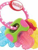 Nuby Icy Bite Teether Keys - Pink additional 1