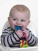 Nuby Icy Bite Teether Keys - Pink additional 2