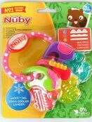 Nuby Icy Bite Teether Keys - Pink additional 6