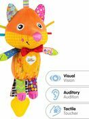 LAMAZE Flannery the Fox Baby Sensory Toy, Clip On Baby Pram Toy & Pushchair Toy with Baby Teether additional 2