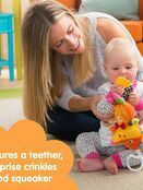 LAMAZE Flannery the Fox Baby Sensory Toy, Clip On Baby Pram Toy & Pushchair Toy with Baby Teether additional 3