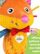 LAMAZE Flannery the Fox Baby Sensory Toy, Clip On Baby Pram Toy & Pushchair Toy with Baby Teether additional 4