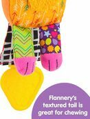 LAMAZE Flannery the Fox Baby Sensory Toy, Clip On Baby Pram Toy & Pushchair Toy with Baby Teether additional 5