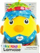 Lamaze Hatching Henry Soft Cuddly Toy for Baby, Babies Plush Toy for Sensory Play 6+ mths additional 7