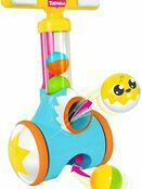 TOMY Toomies Pic & Pop Push Along Baby Toy | Toddler Ball Popper With Ball Launcher And Collector additional 1